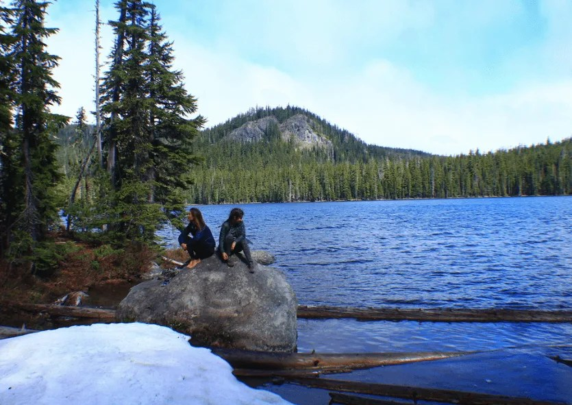 Cascade Lakes Highway: Doris Lake