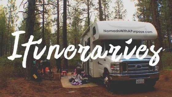 Adventure Travel Destinations, Itineraries