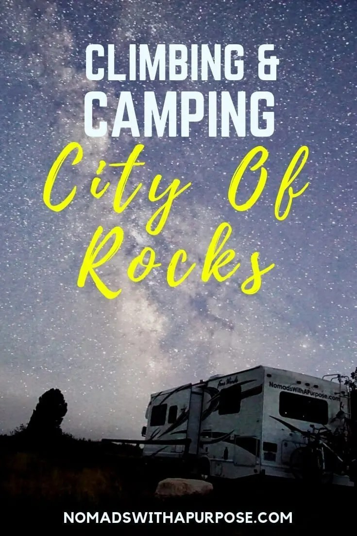 Climbers guide to city of rocks