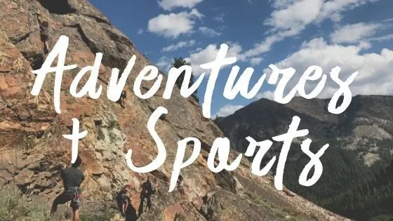 Adventure Travel Destinations, Adventure Sports