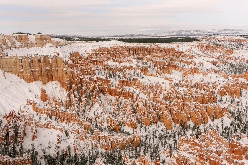 The views of Bryce Canyon National Park on our west coast road trip