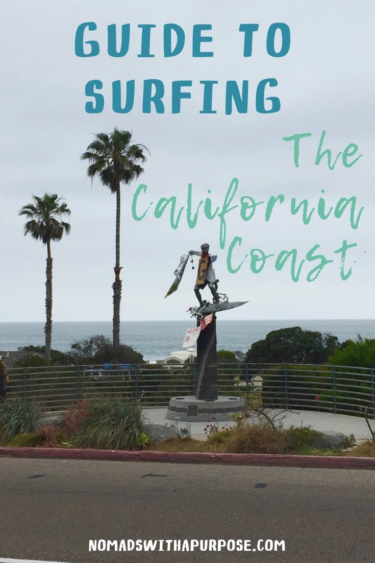 Guide to surfing the California coast