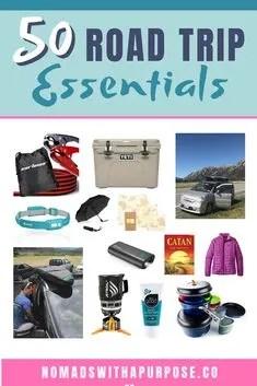 50 Road Trip Essentials Pack List