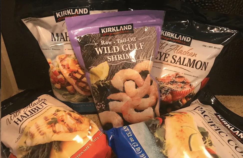 Shop healthy at Costco seafood