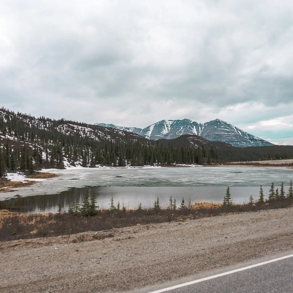 Summit Lake, Alaska Highway
