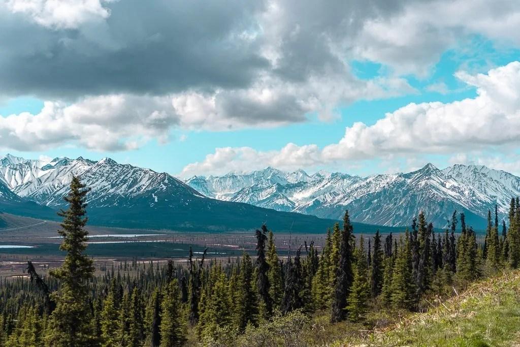 Views on the Alaska Highway
