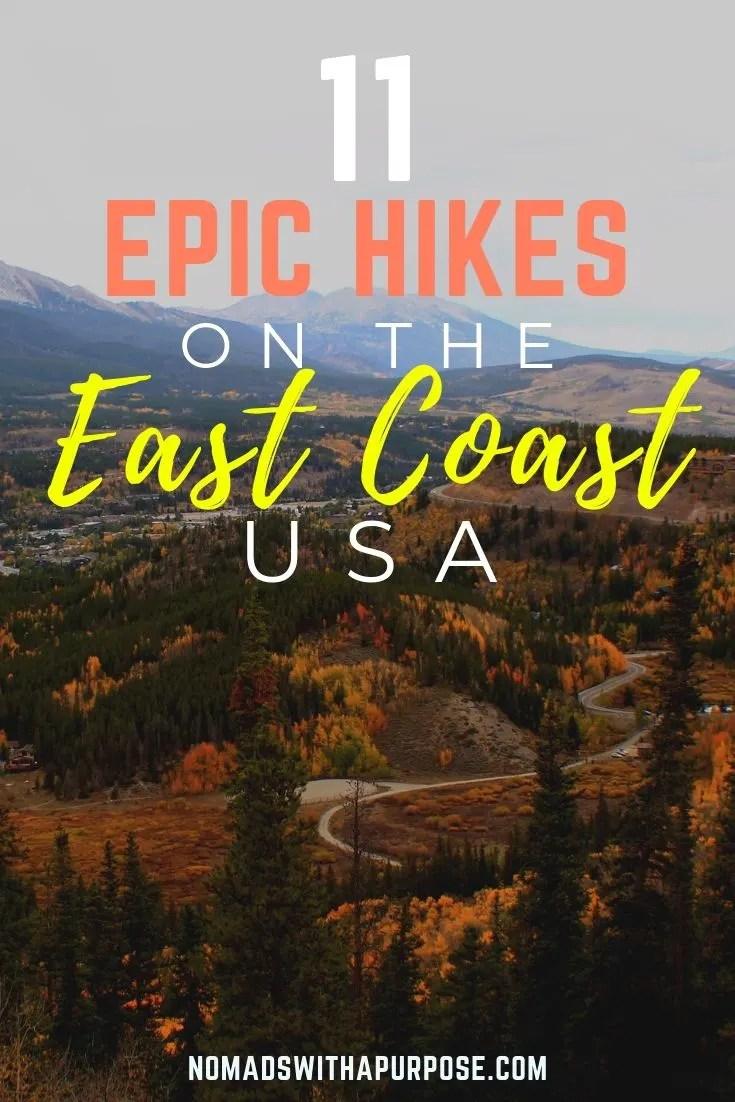 epic Hikes on the East Coast
