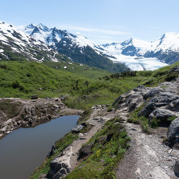 Portage Pass Hike near Anchorage