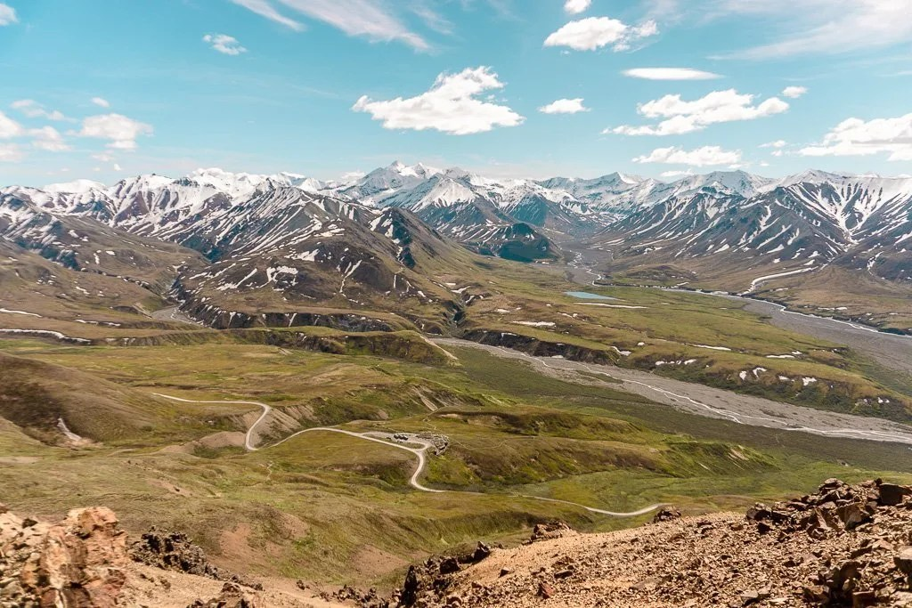 Eilson Visitor Center, Denali National Park, Hiking and Camping, Alaska