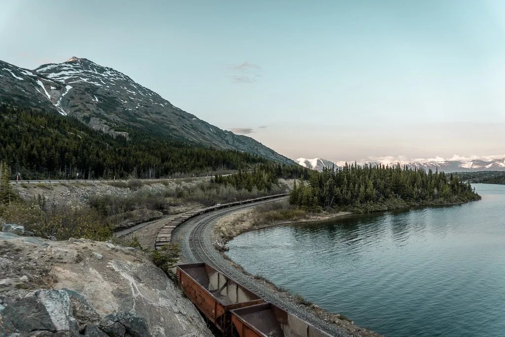 White Pass scenic route, Golden Circle, Alaska