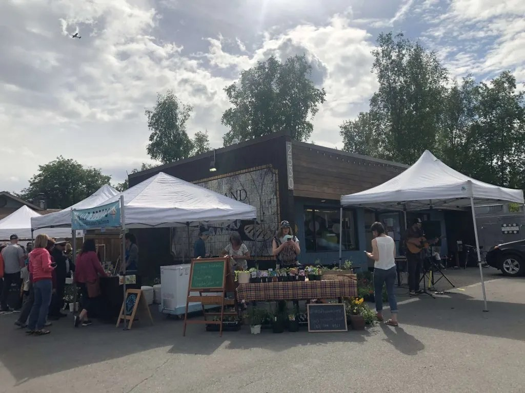 Anchorage Farmers Markets
