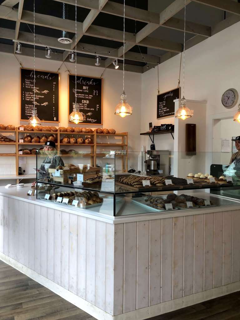 where to eat in Squamish, tall tree bakery