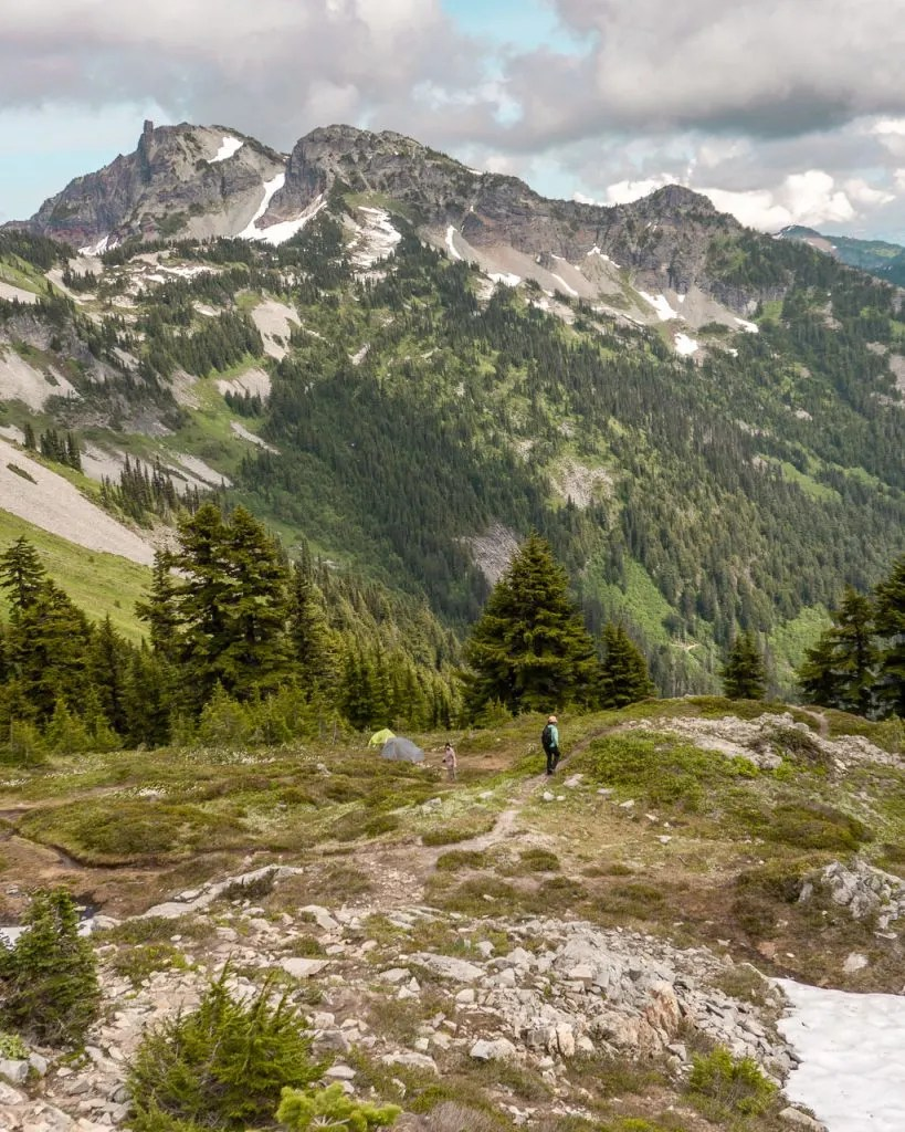 Hiking Pinnacle Peak Mount Rainier NP