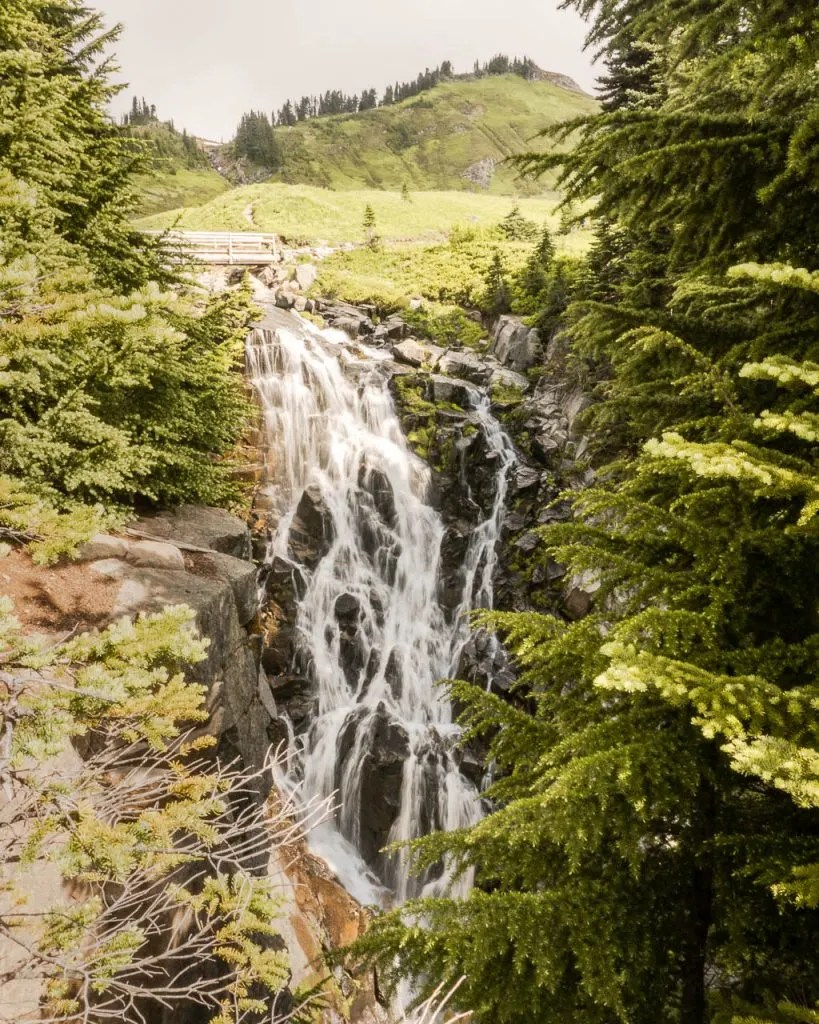 Myrtle Falls, Paradise, Mount Rainier NP, Things to do Rainier