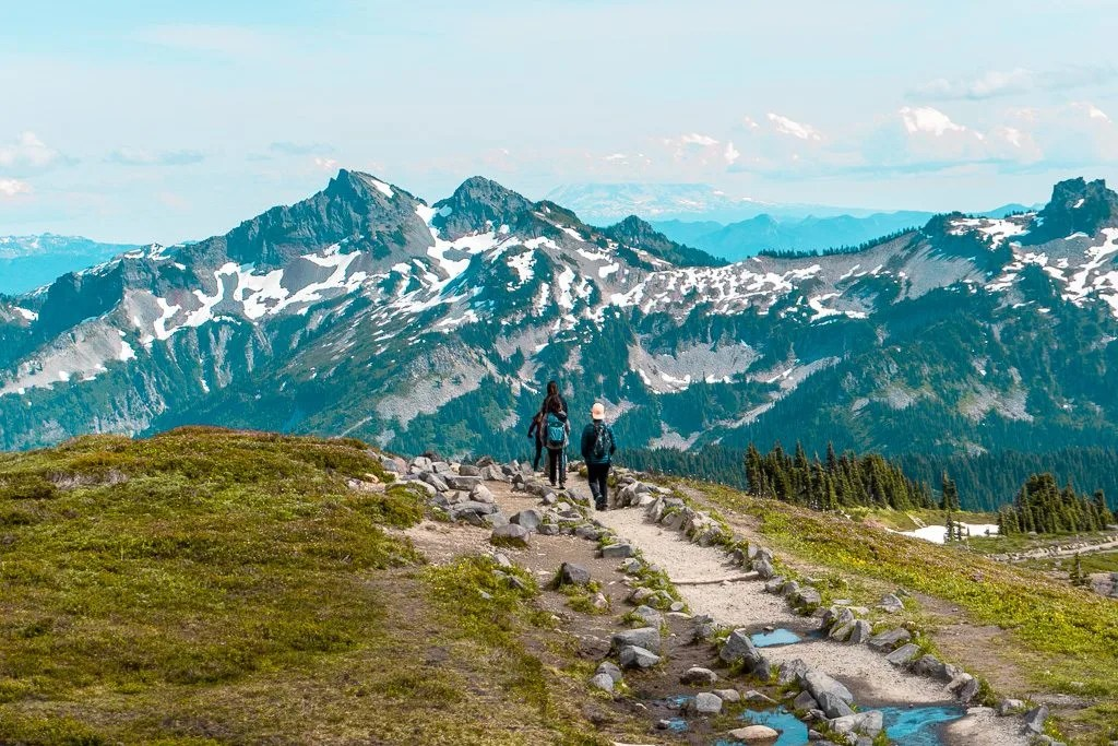 Skyline Trail, Paradise, Mount Rainier National Park