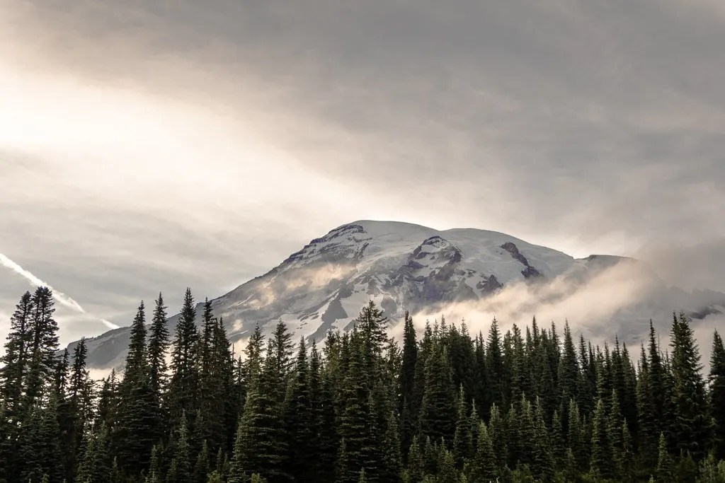 Sunset on Mount Rainier, Things to do in Mount Rainier