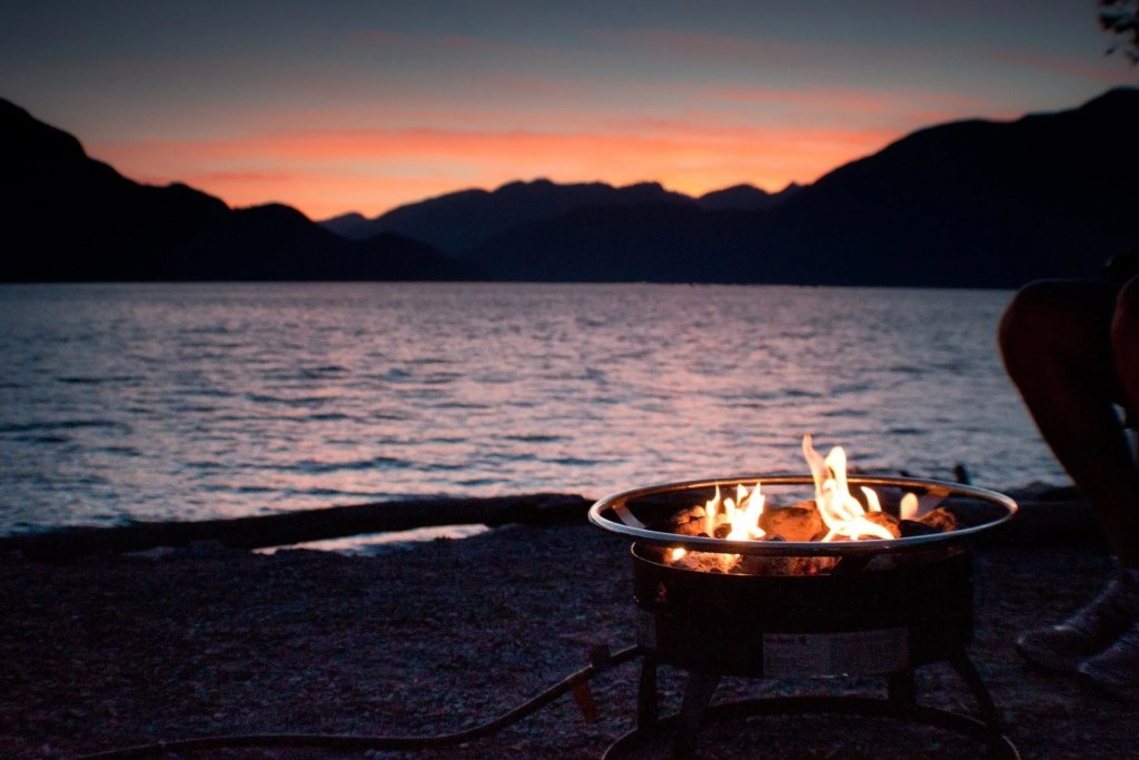Porteau Cove PP Campground: Camping Squamish