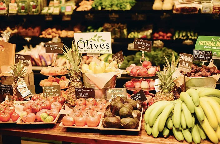 Olive's Market Whister, where to eat