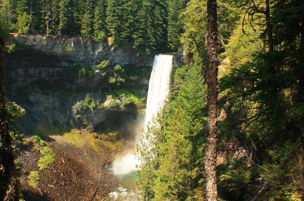 Whistler things to do, Brandywine Falls