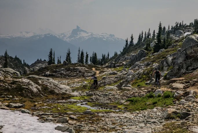 Alpine Mountain biking, Whistler, Things to do