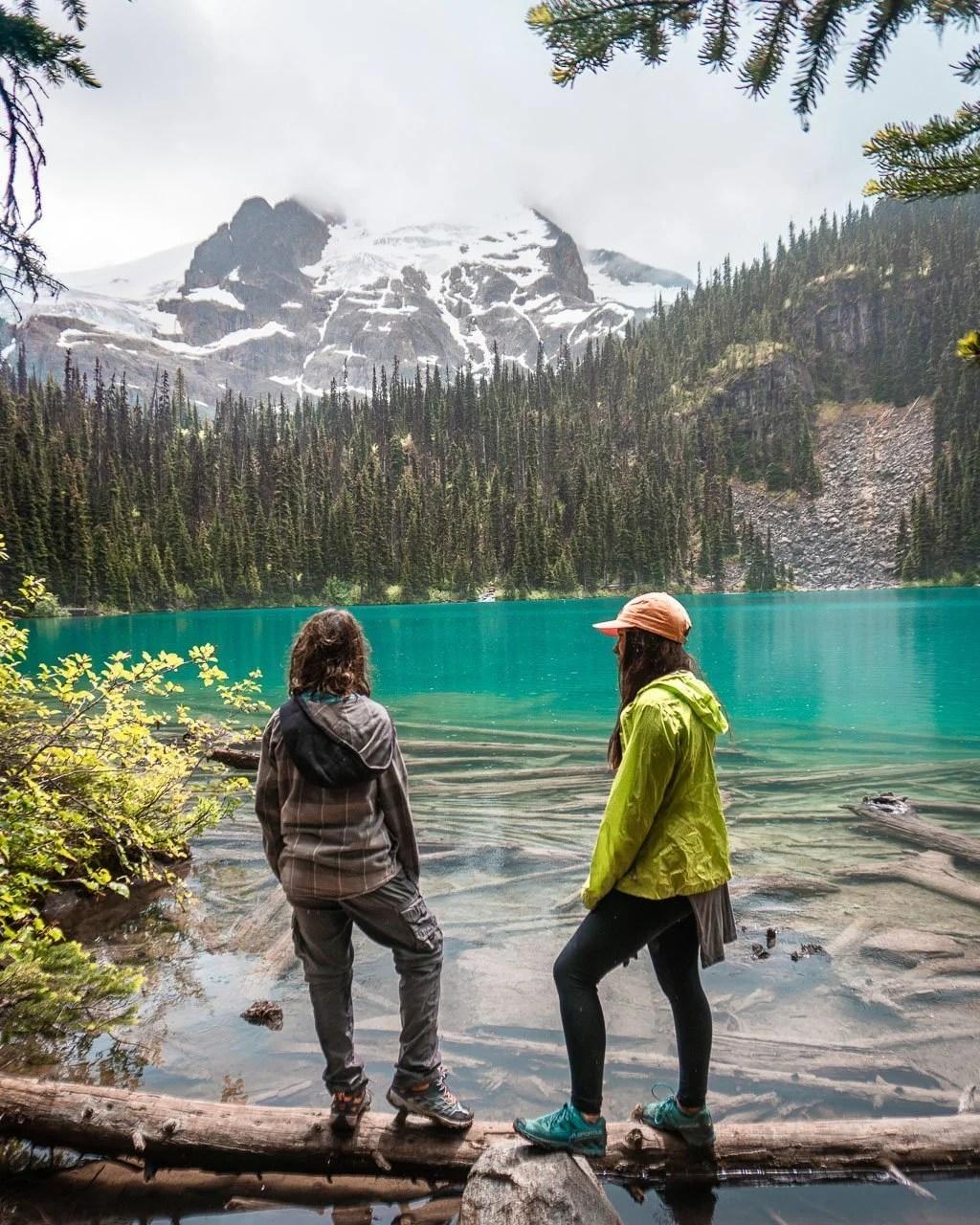 Iconic Joffre Lakes near Whistler