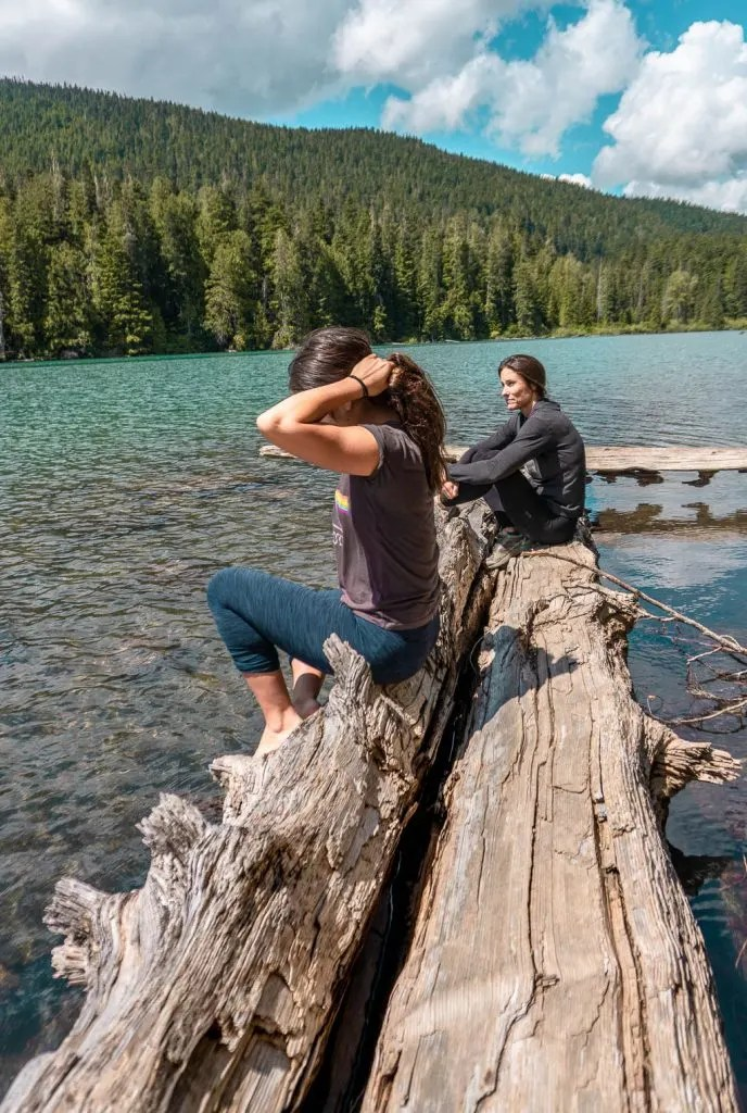 Cheakamus Lake in Whistler, Hiking and Biking