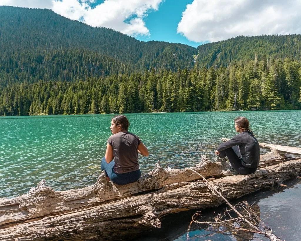Cheakamus Lake in Whistler, Hiking and Biking