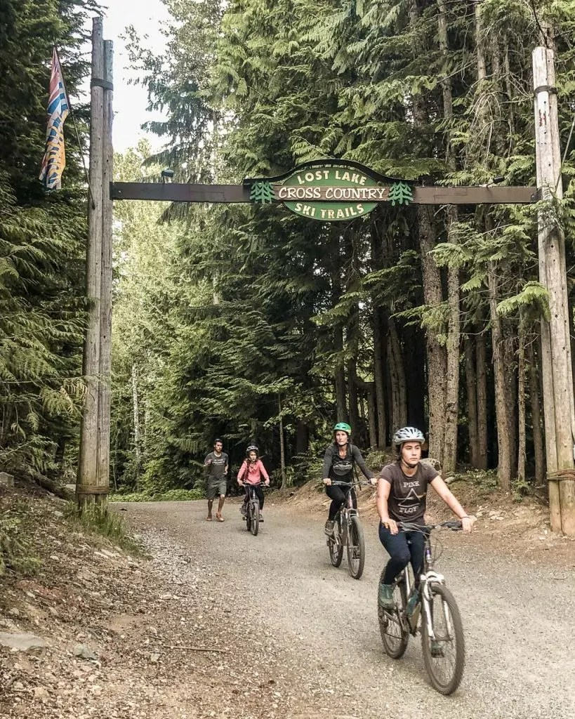 Lost Lake Trail Network, Biking in Whistler