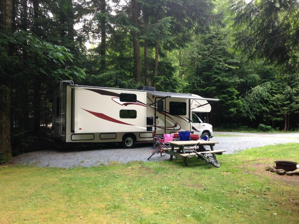 Squamish Camping at MTN Fun Camp
