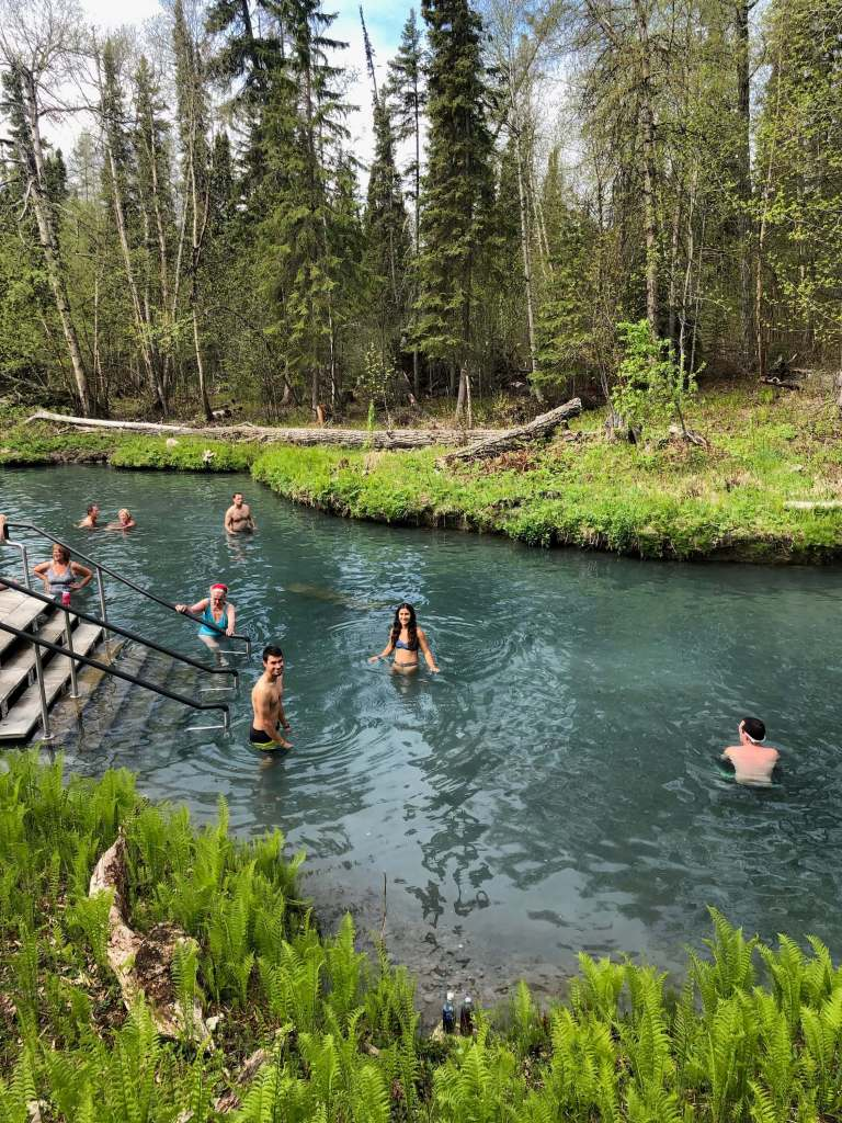 Liard Hot Springs, Alaska Highway