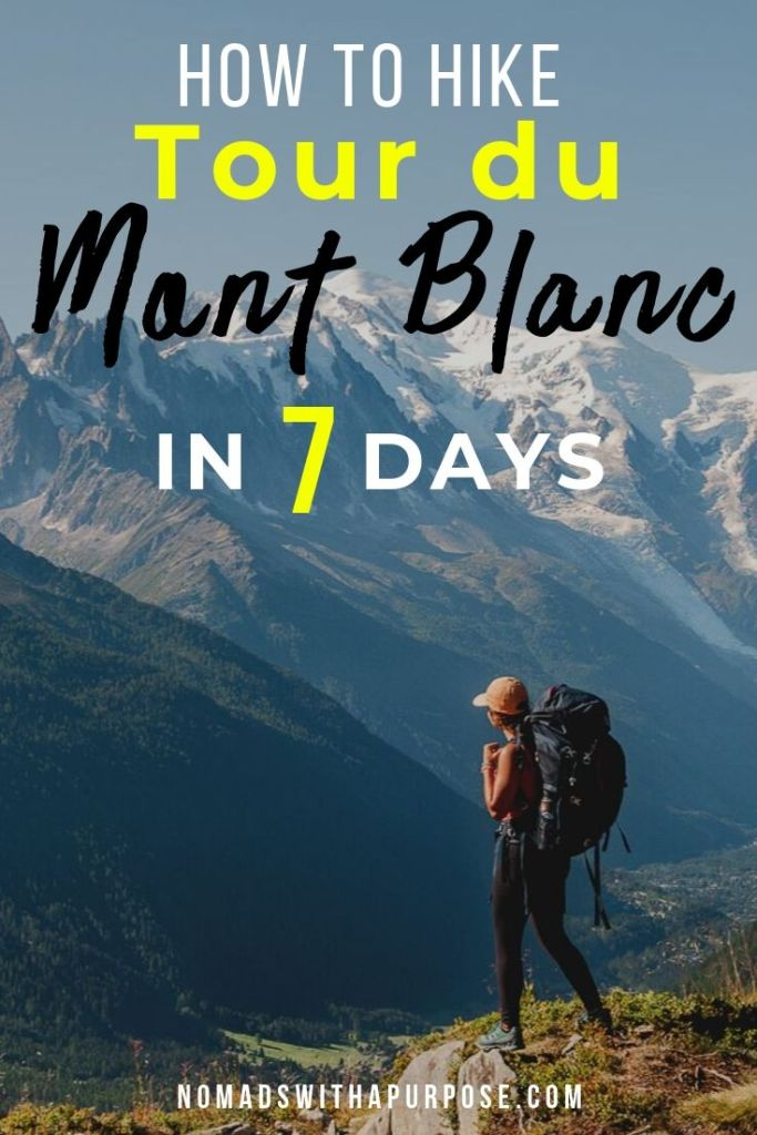 How to hike the Tour du mont Blanc in 7 Days