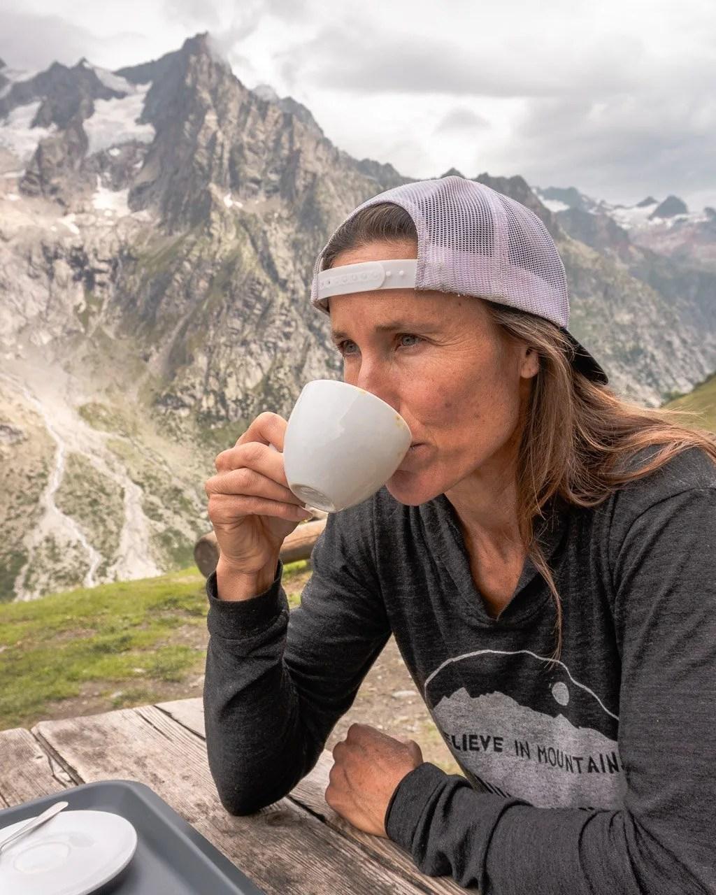 Rigugio Bonatti on Tour du Mont Blanc, Italy