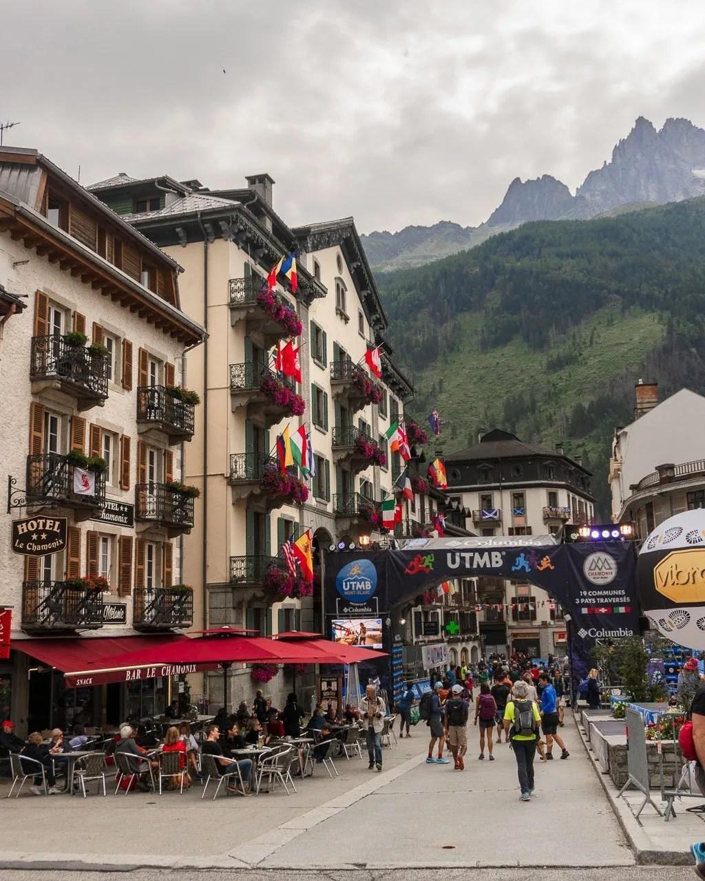 Ultra Tour du Mont Blanc in Chamonix