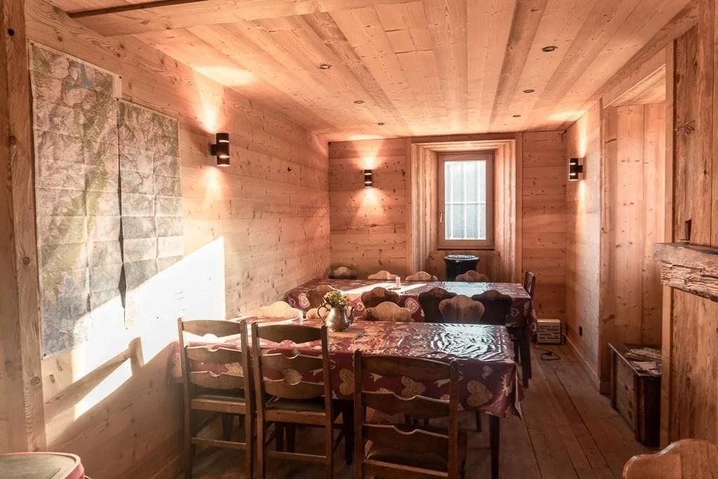 Col de Balme camping and refuge, Tour du mont blanc