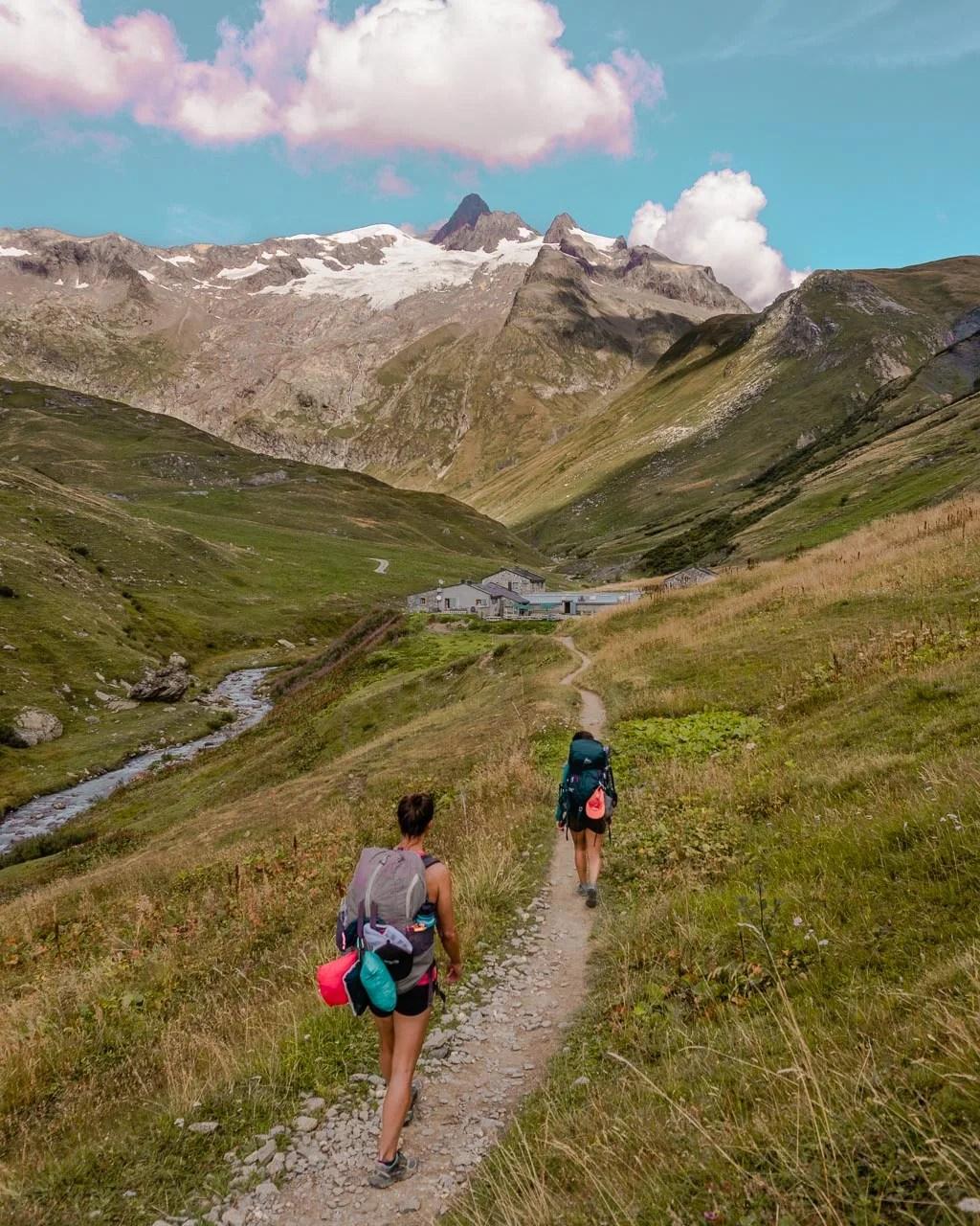 Refuge de Mottets Tour du Mont Blanc