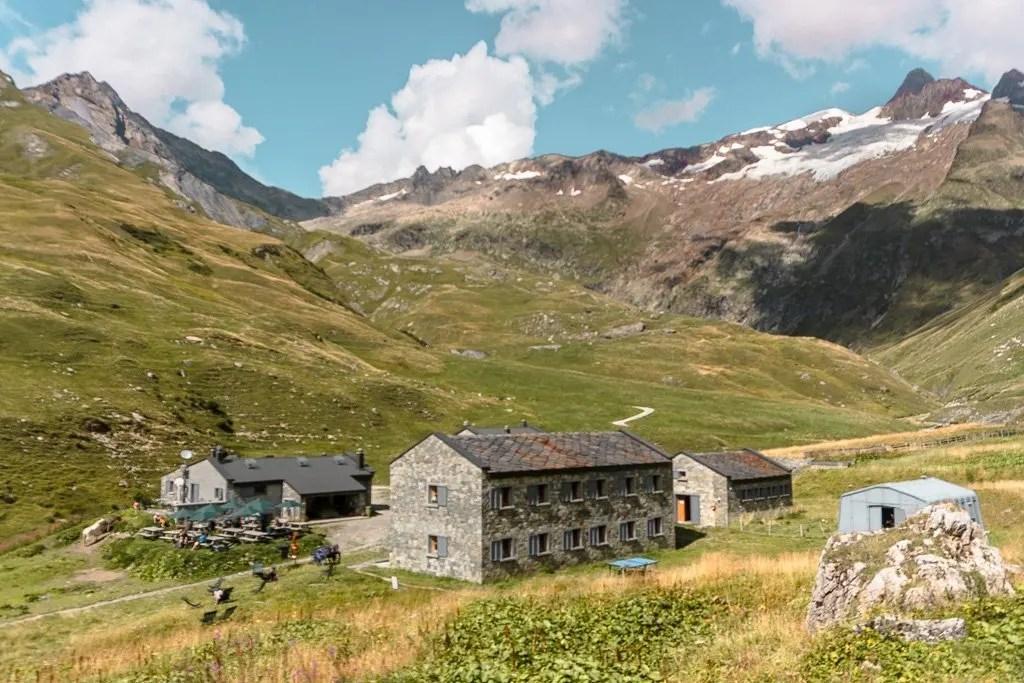 Refuge des Mottets on Tour du Mont Blanc