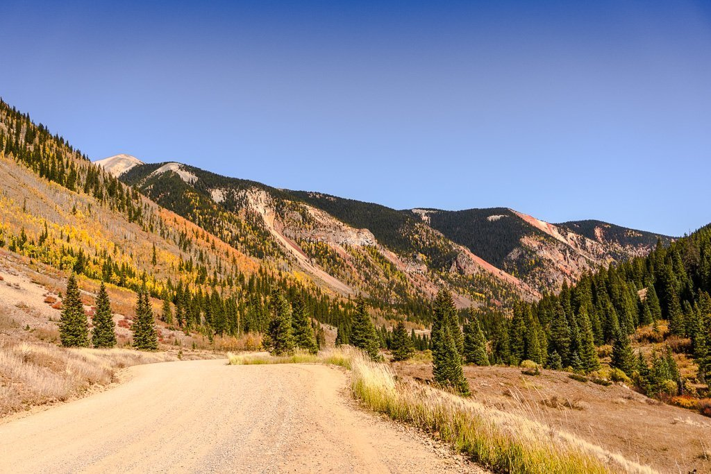 South Mineral Road, Million dollar Highway Colorado