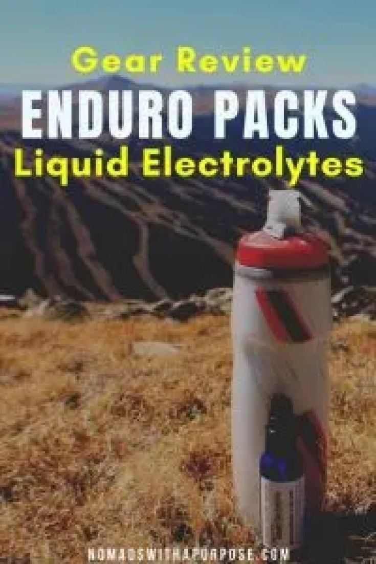 enduropacks liquid electrolytes review