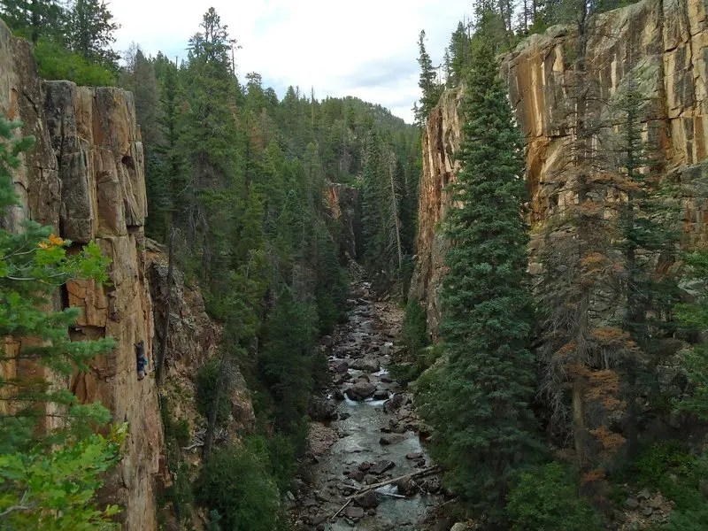Rock climbing in Lemon Reservoir, Durango, Colorado, things to do