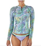 Patagonia long sleeve wetsuit top for hawaii
