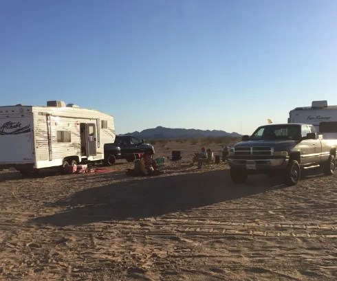 ogilby, best campgrounds california