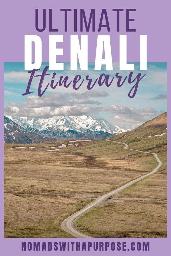 Denali NP Itinerary Pin