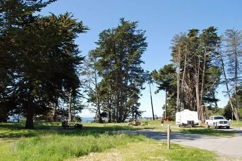 New Brighton State Beach, Best campground California