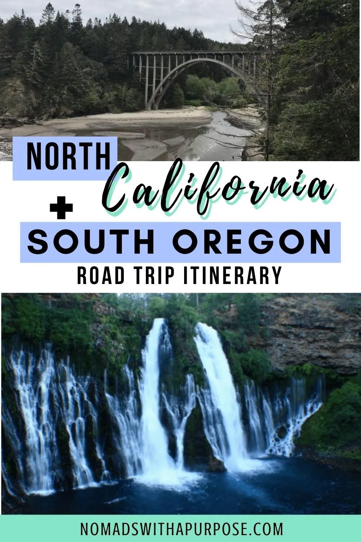 North California + South Oregon Road Trip Itinerary