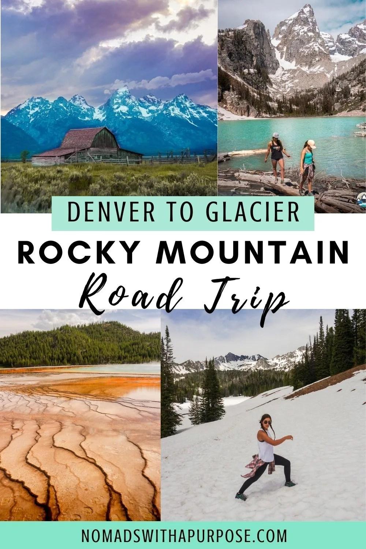 Denver To Glacier Rocky Mountain Road Trip