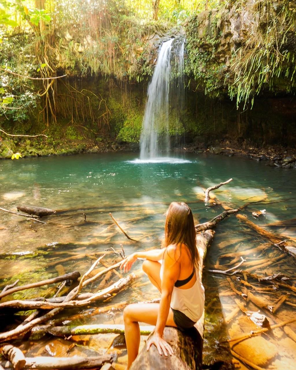Twin falls, Road to Hana, Maui, Things to do