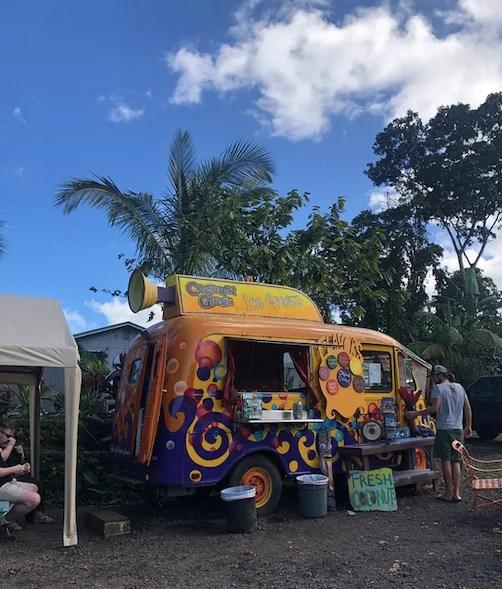 Coconut Glens Ice cream truck