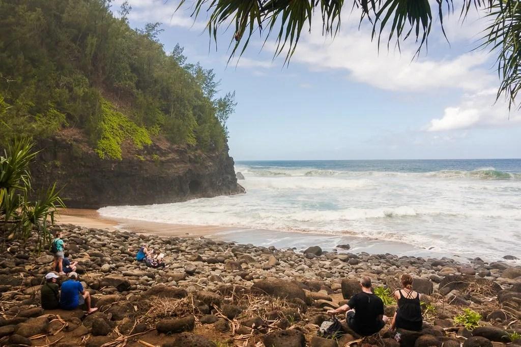 Hanakapi'ai Beach, Na Pali Coast
