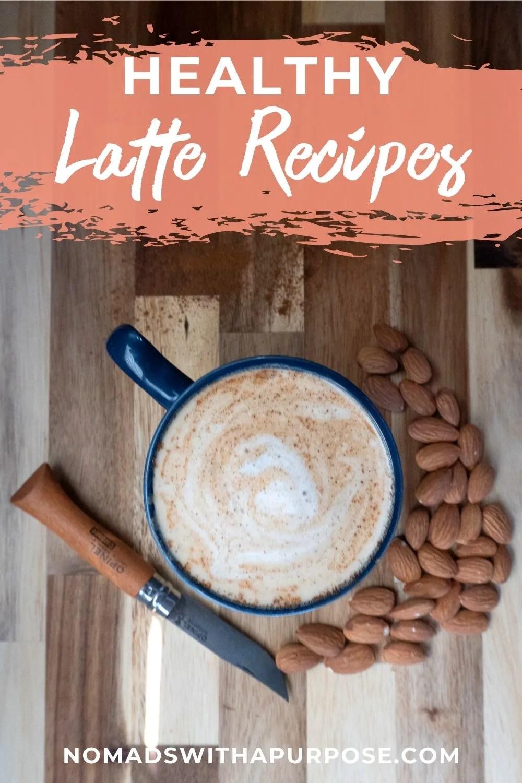 Healthy latte recipes