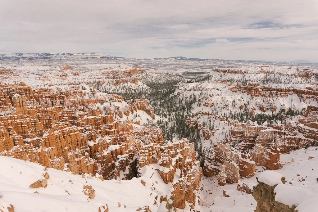 Bryce Canyon National Park, Amphitheater in Winter